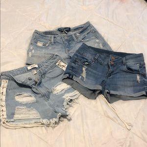 Bundle of Women's Branded shorts